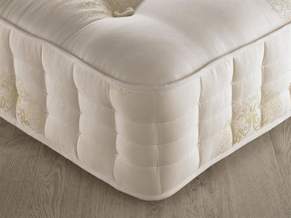 super king size zip and link mattress