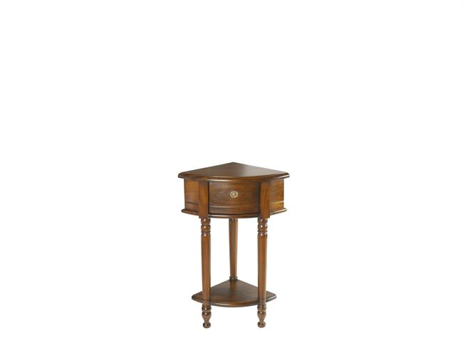 Mahogany Occasional Corner Hall Table Buy At Annetts