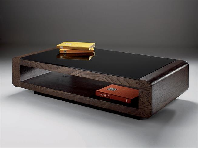 Marvelous Elm Rectangular Coffee Table