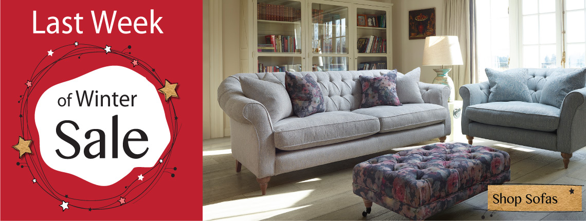 Winter sale sofas