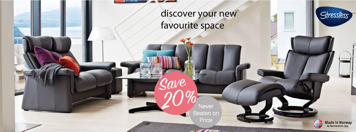 20% Off Leather Sofa Ranges