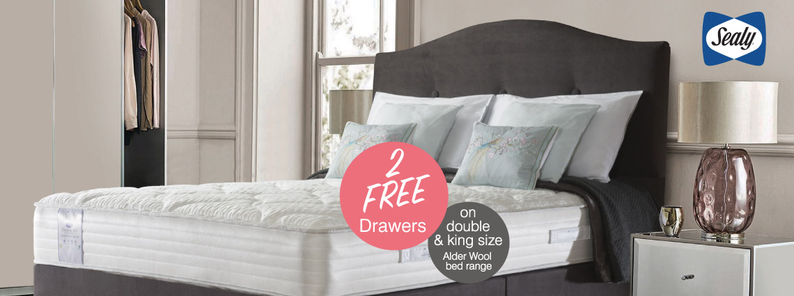 2 Free Drawers Offer