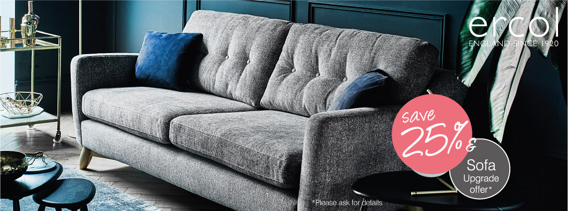 Ercol Sofa Upgrade Offer