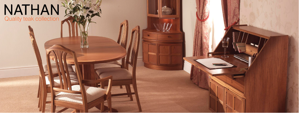 Nathan classic teak furniture buy at annetts fine for G plan heritage dining room furniture